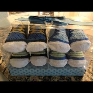 Baby boy sock gift set